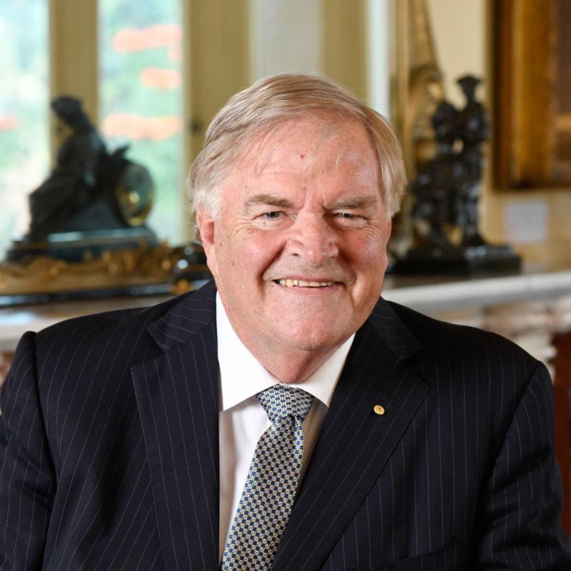 Governor Kim Beazley. WA Patron