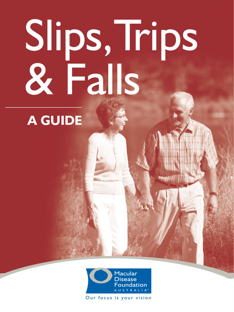 Cover of the Slips, Trips and Falls guide.