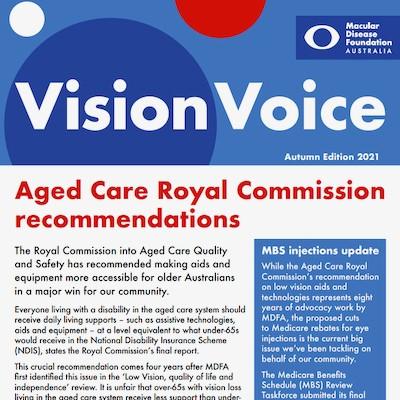 Vision Voice Autumn 2021