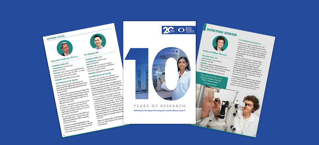 10 years of research
