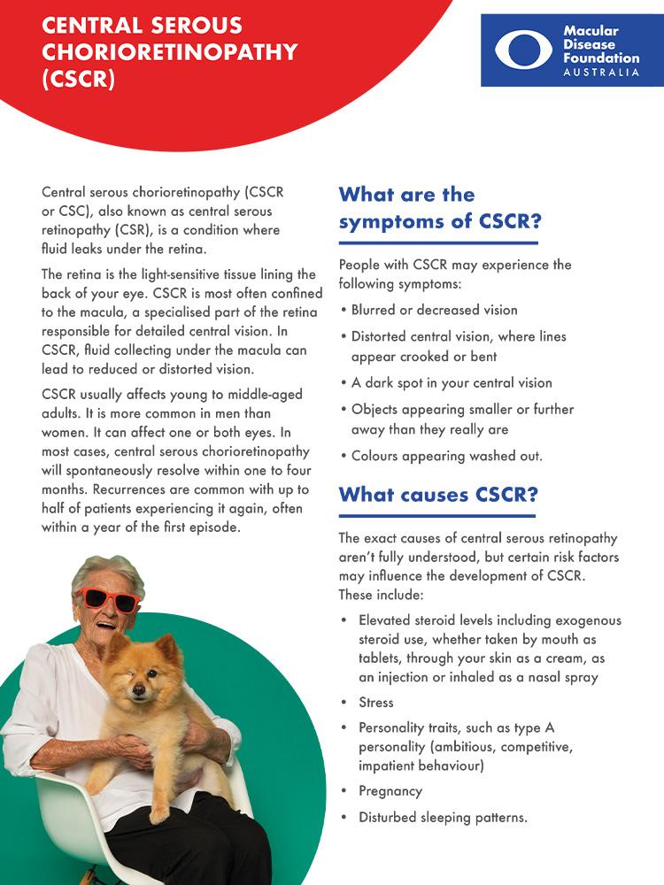 Cover of CSCR fact sheet