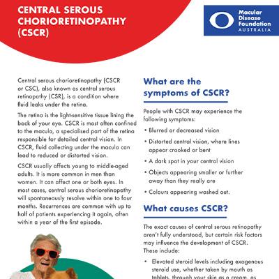 CSCR fact sheet