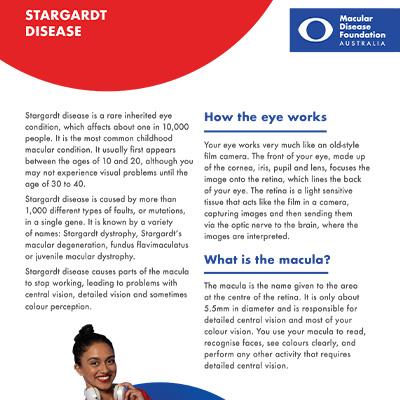 Stargardt disease fact sheet